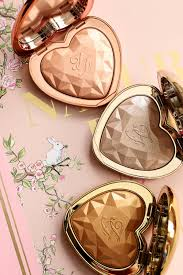 love light prismatic highlighter the new too faced love light prismatic highlighters in ray of light