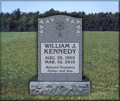 upright headstones granite gravestones and bronze markers