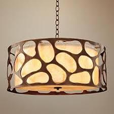 Drum Pendant Light Medium 23 30 In Wide Drum Pendant Lighting Lamps Plus