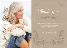 funeral thank you cards swirls funeral thank you cards memorial cards