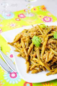 cuisiner chignons de frais a la poele haricots verts sautés à l ail recette facile aux delices du palais