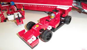 ferrari lego shell lego speed champions 75913 u2013 f14 t u0026 scuderia ferrari truck
