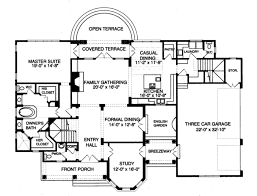 traditional style house plan 4 beds 5 00 baths 4388 sq ft plan