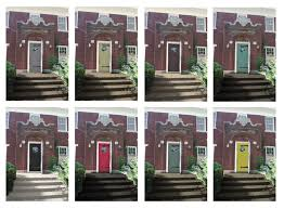 brick house front door yellow brick ranch house colors exterior what go with homes front