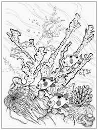 awesome fish coloring pages for adults awesome 805 unknown