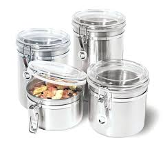 pottery canisters kitchen canisters for kitchen bloomingcactus me