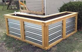 building a self watering raised garden bed u2013 frugal living