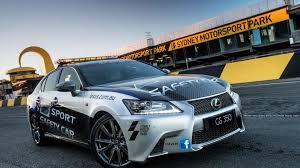 lexus gs350 f sport lexus gs 350 f sport safety car revealed in australia