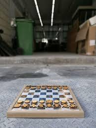 custom made one piece chess set junk host