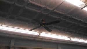 craftmade ceiling fans and vintage fluorescent lights in a 100