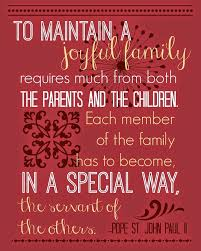 a joyful family the daily quotes