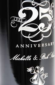 anniversary wine bottles custom etched wine bottles gallery for weddings fresh northwest