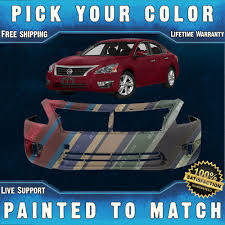 nissan altima or honda accord new painted to match front bumper cover for 2013 2015 nissan