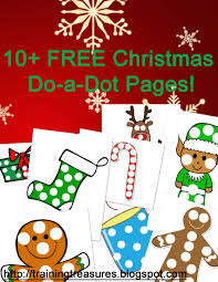 free 10 christmas dot a dot pages free homeschool deals
