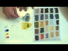 william gelvin art lesson color theory and color matching exercise