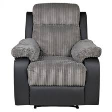 Fabric Recliner Chair Bradley Fabric Recliner Chair Charcoal Furnico