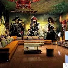cheap wallpaper kids love cartoon pirates of the caribbean