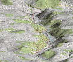 Maps Of Pennsylvania by 3d Dem Topographical Map Pseudo Color Satellite Imaging Corp