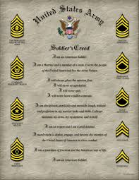 the soldier u0027s creed
