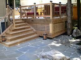 Corner Deck Stairs Design Impressive Corner Deck Stairs Design Inspiring Deck Steps Ideas 9