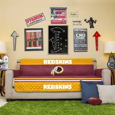 Quilted Sofa Covers Redskins Quilted Sofa Cover