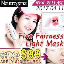 neutrogena acne light mask review neutrogena light therapy mask reviews friendlens me