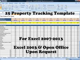 Property Management Excel Template Rental Management Template Like This Item 25 Property Tracking