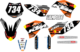 image gallery 2005 ktm 65 graphics