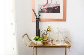 dining room cart how to style a bar cart