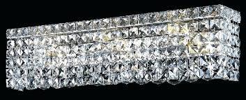 bathroom crystal light fixtures crystal vanity light brokenshaker com