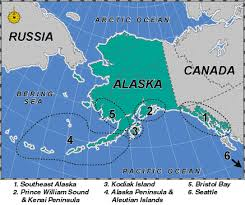 alaska on map alaska fishing area maps jobmonkey