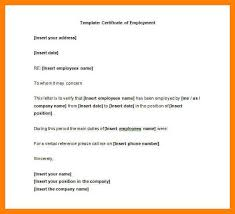 employment certificate with salary sample of certificate of employment with compensation images