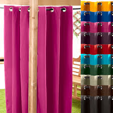 Outdoor Gazebo Curtains by Waterproof Outdoor Curtain Eyelet Panel 55