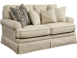living room magnolia home heritage loveseat