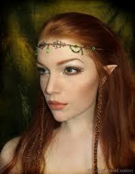 Elven Halloween Costume Elf Headpeace Cosplay Cosplay Elves