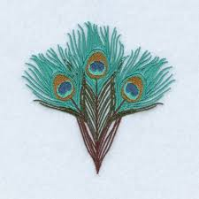 peacock feathers embroidery design annthegran