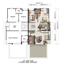 single storey semi detached house floor plan 15 semi detached house plan floor plans for houses astonishing