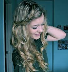 cute hairstyles with curly hair cute simple hairstyles for long curly hair easy hairstyles for curly
