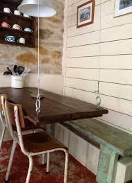 le suspendue cuisine table suspendue les carnets de carreco pallets diy