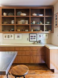 wooden kitchen storage cabinets furniture home tips for open shelving in the kitchen hgtv