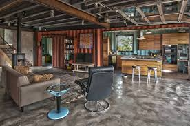 shipping container homes interior shipping container house by studio h t shipping container houses