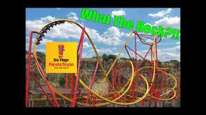 6 Flags Coupons Six Flags Fiesta Texas Wonder Woman Golden Lasso Coaster Reaction