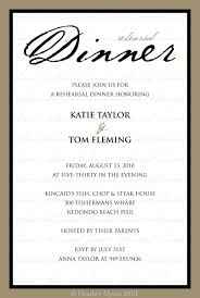 Rehearsal Dinner Invites Formal Dinner Invites Lareal Co
