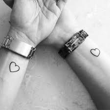 sister heart tattoos best tattoo ideas gallery