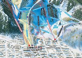 aspen map aspen mountain trail map colorado ski resort maps