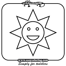 easy toddlers free coloring pages art coloring pages