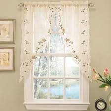 Jcpenney Swag Curtains Swag Kitchen Curtains For Window Jcpenney