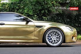 modified bmw m6 crazy gold wrapped bmw m6 adv10 0 mv2 cs wheels