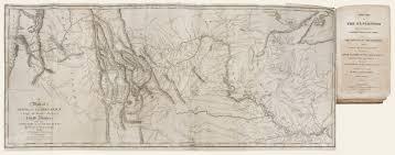Lewis And Clark Map The Antiquarium Antique Print U0026 Map Gallery Paul Allen