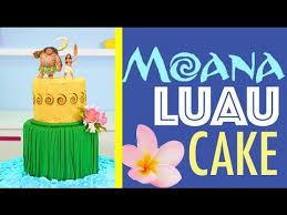 cake how to princess moana cake how to make a hawaiian luau cake